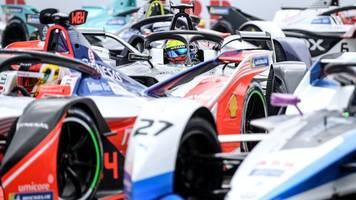 Auftakt des Formel-E-Finales auf dem Tempelhofer Feld