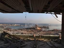 Bis zu 300.000 Obdachlose: Explosion ist der Sargnagel für den Libanon