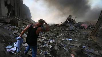 Apokalyptische Szenen: Zerstörung, Tote, unendliches Leid – die Katastrophe von Beirut in Bildern