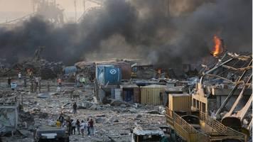 Suche nach Ursache: Beirut nach gewaltiger Explosion zur Katastrophen-Stadt erklärt - mehr als 70 Tote und 3700 Verletzte
