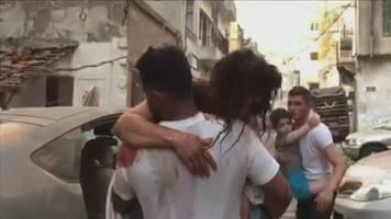 Video: Mehr als 70 Tote bei schwerer Explosion in Beirut