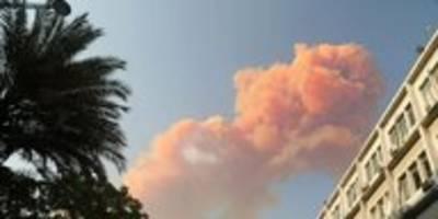 Explosion am Hafen von Beirut: Hochgefährliche Chemikalie