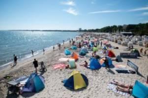 Tourismus: Strandampel gilt von Freitag an auch für Timmendorfer Strand