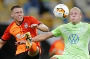 0:3 in Donezk: VfL Wolfsburg verpasst Endrunde der Europa League