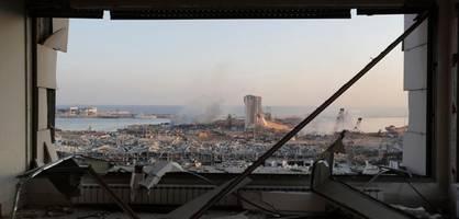 Diese Bilder zeigen das Ausmaß der Zerstörung in Beirut