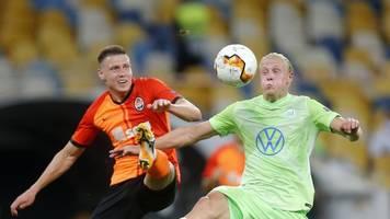 Europa League - 0:3 in der Ukraine: VfL Wolfsburg verpasst Endrunde