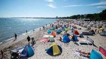 Strandampel gilt von Freitag an auch für Timmendorfer Strand