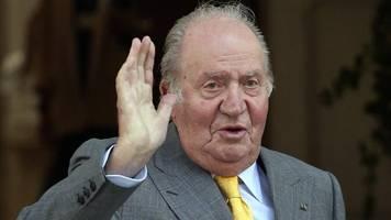 finanzaffäre - spaniens regierung: altkönig juan carlos ist nicht geflohen