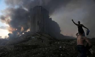 Explosionen in Beirut: Ammoniumnitrat als mögliche Ursache