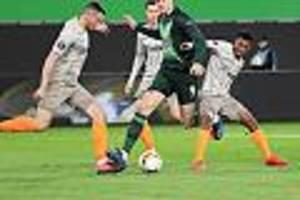 Achtelfinal-Rückspiel - Europa League: Schachtar Donezk - VfL Wolfsburg im Liveticker: Wölfe müssen siegen