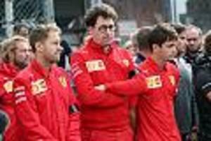 Grand Prix in Silverstone - 17 Sekunden Funkstille: Sebastian Vettel hat Binotto nichts zu sagen