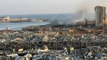 Explosionen in Beirut: Es war Chaos