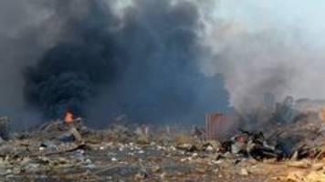 Viele Opfer in Beirut: Explodierten 2750 Tonnen Ammoniumnitrat?