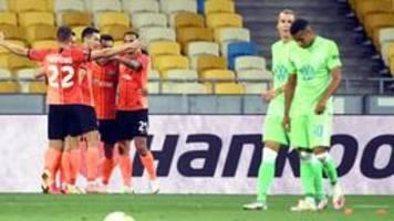 Wolfsburg scheitert in Europa League an Donezk