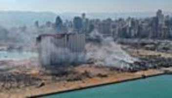 Beirut: Libanesische Regierung rechnet mit weiter steigenden Opferzahlen