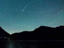 60 Kilometer pro Sekunde: Perseiden bringen Meteoren-Feuerwerk