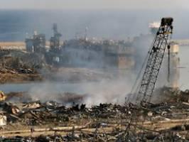 Behörden wussten von Chemikalie: Die Beirut-Katastrophe war absehbar