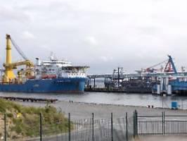 Finanzielle Zerstörung: Drei US-Senatoren drohen dem Hafen Mukran