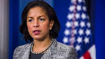 US-Wahl: Susan Rice könnte nächste US-Vizepräsidentin der Demokraten werden. Ihr Sohn unterstützt Donald Trump