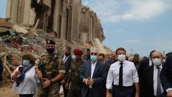 Macron kündigt internationale Hilfskonferenz für den Libanon an