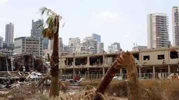 Nach der Explosionskatastrophe: UN wollen Libanon mit neun Millionen Dollar Soforthilfe unterstützen