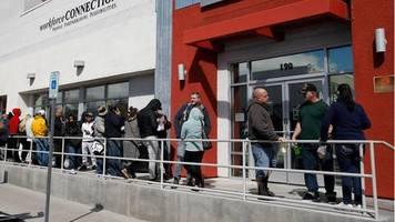 news zum coronavirus: erneut mehr als eine million neue arbeitslose in den usa