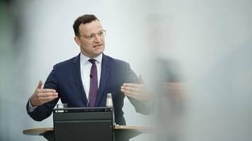 news zum coronavirus: gesundheitsminister spahn: test-verweigerern drohen bußgelder bis zu 25.000 euro
