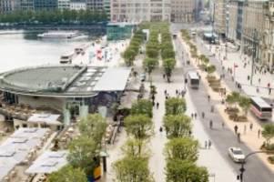 hamburger city: jungfernstieg wird autofrei: das sind die konkreten pläne