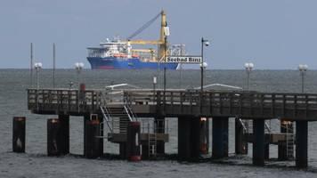 Streit um Nord Stream 2: US-Senatoren drohen Fährhafen Sassnitz
