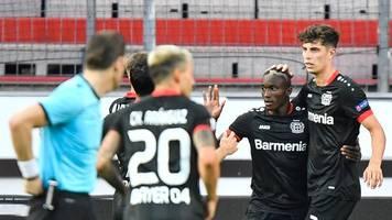 Europa League - Bayer Leverkusen nach 1:0 gegen Glasgow im Viertelfinale