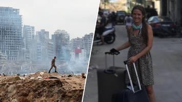 Explosion in Beirut – Zufall rettete Deutsche: Wären genau da gewesen