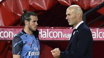 rückspiel in manchester - real ohne bale - zidane: er wollte nicht spielen
