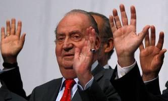 Altkönig Juan Carlos ist laut spanischer Regierung nicht geflohen