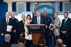 Schädliche Covid-Falschinformation: Facebook und Twitter greifen hart gegen Donald Trump durch