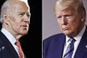 us-präsidentschaftswahl - biden kann nur gegen trump gewinnen, wenn er keine linke politik verspricht