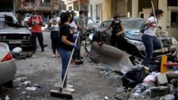 Bürger in Beirut: Zwischen Solidarität und Wut