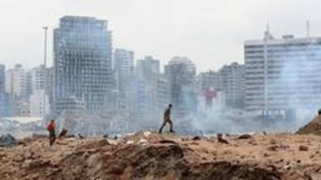 Beirut: Noch viele Vermisste und offene Fragen