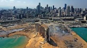 Spenden: Hilfe für die Opfer der Explosion in Beirut
