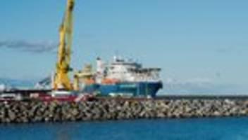 Nord Stream 2: Manuela Schwesig empört über US-Drohungen gegen Sassnitzer Hafen