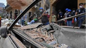 Beirut nach der Explosion: Hoffnung auf weitere Überlebende schwindet - 80.000 Kinder obdachlos