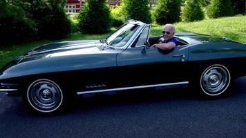 US-Präsidentschaftskandidat: Biden zeigt sich in Corvette-Cabrio – warum ihm das Schmuckstück so viel bedeutet