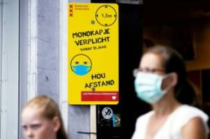 Corona-Urlaub: Corona in den Niederlanden: Maskenpflicht an Touristenorten