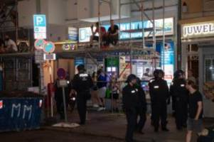 Extremismus: Proteste gegen Räumung von Kiezkneipe Syndikat: Festnahmen