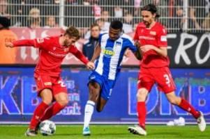 Bundesliga: Hertha vs. Union – das nächste Derby steigt im Dezember