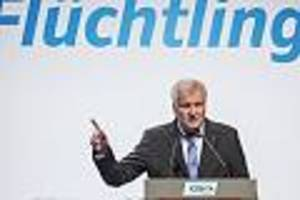 "kontroverse entscheidung  - ""inhuman"" und ""völkerrechtswidrig"": seehofer stoppt thüringer flüchtlingsprogramm"