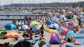 Hitze-Wochenende im Norden: Besucher-Ansturm auf die Küsten