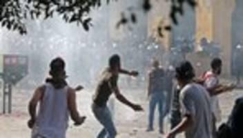 Libanon: Tausende demonstrieren in Beirut gegen Regierung