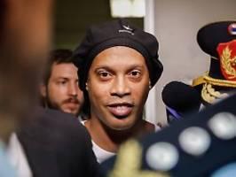 Nach fünf Monaten Haft: Ronaldinho darf auf Freilassung hoffen
