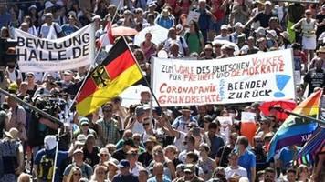 Demos am Wochenende in Stuttgart und Dortmund gegen Corona-Maßnahmen