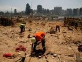 """""""Alle wollen helfen"""" bei der Geberkonferenz für Beirut am Sonntag"""
